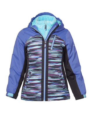 Free Country Girls' Shred Boarder Jacket - Black - S