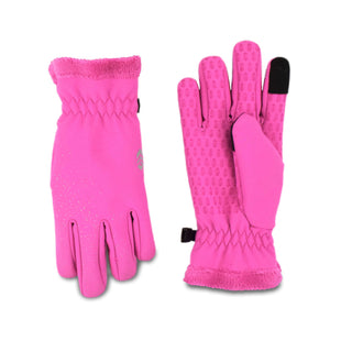 Free Country Girls' Solid Softshell Glove - Pink - 7-14