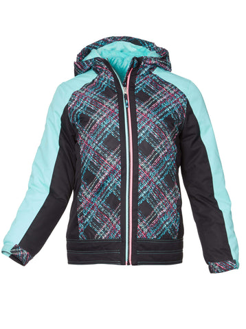 Free Country Girls' Triumph 3-in-1 Systems Jacket - Black