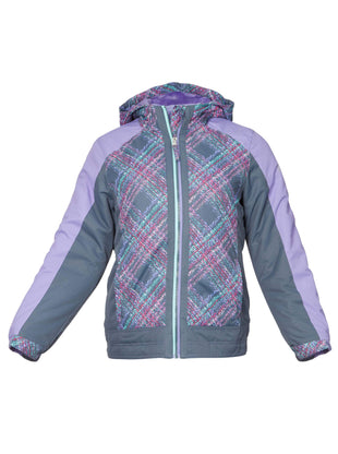 Free Country Girls' Triumph 3-in-1 Systems Jacket - Silver Motion - S