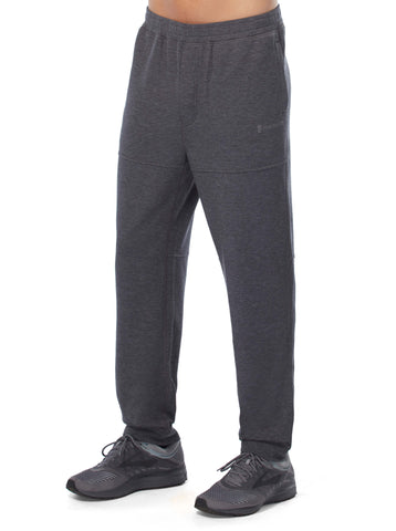 Free Country Men's Active Knit Jogger Pant - Charcoal - S