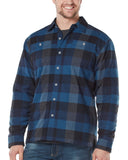 Men's Adirondack Fleece-Lined Flannel Shirt Jacket
