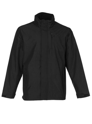 Free Country Men's Adrenaline Multi Rip-Stop Jacket - Black - S
