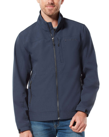 Free Country Men's Signature Cruiser Lightweight Softshell Jacket - Blue Jean - S