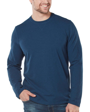 Free Country Men's All Day Crew Neck - Navy - S