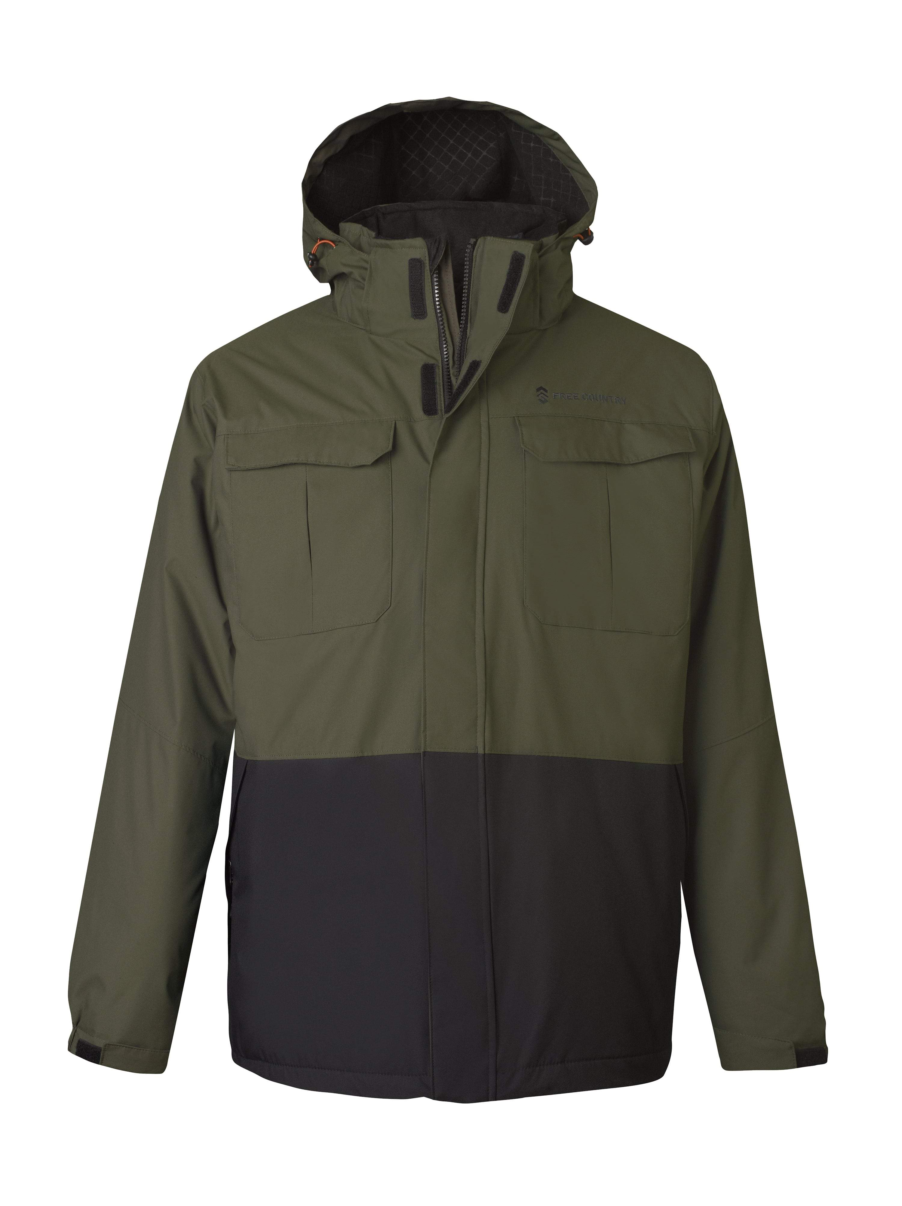 Free Country Men's Ascent 3-in-1 Systems Jacket