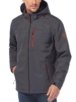 Free Country Men's Asteryx All Weather Jacket - Charcoal - S