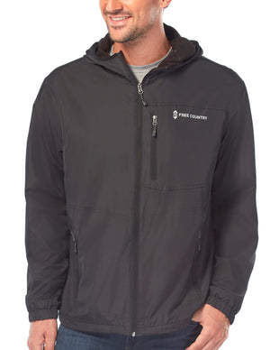 Free Country Men's Backroad Windshear Jacket - Black - S
