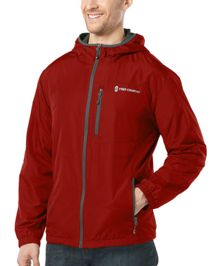 Free Country Men's Backroad Windshear Jacket - Dragon Blood - S