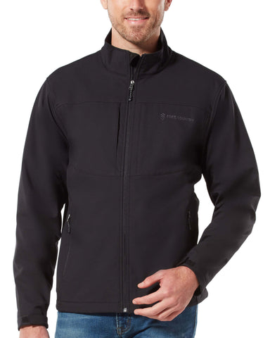 Free Country Men's Barrier Super Softshell® Jacket - Black - S
