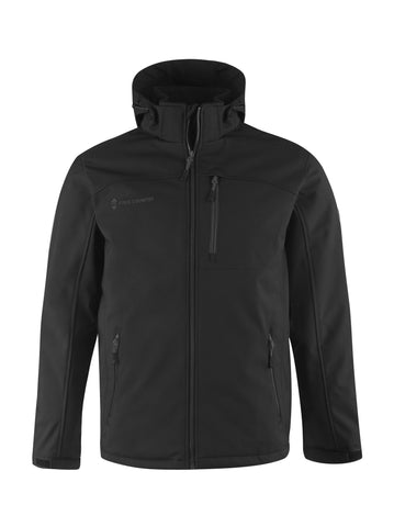Free Country Men's Big and Tall Asteryx All Weather Jacket - Black - 3XL