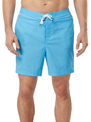 Free Country Men's Bold Texture Board Short - Sky Blue - S