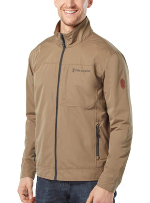 Free Country Men's Boulder Bomber Jacket - Tan - S