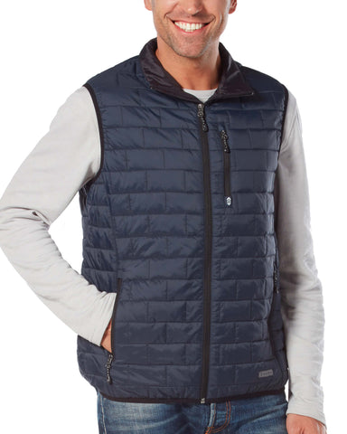 Free Country Men's Breakthrough Puffer Vest - Navy - S