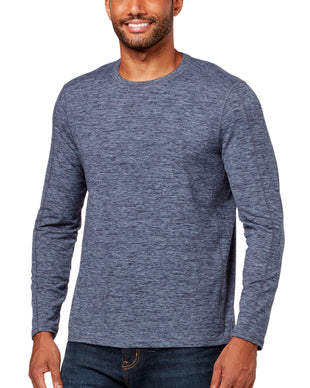 Free Country Men's Catskill Brushed Crew Neck - Denim - S