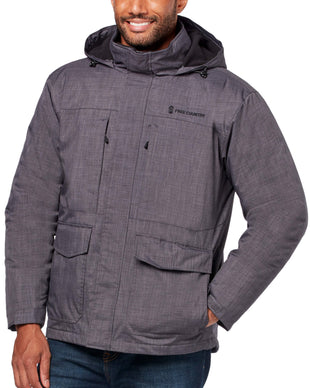 Free Country Men's Cross Hatch 3-in-1 Systems Jacket - Charcoal - S
