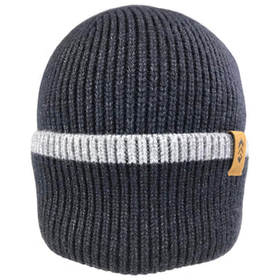 Free Country Men's Cuffed Knit Beanie - Black - O/S