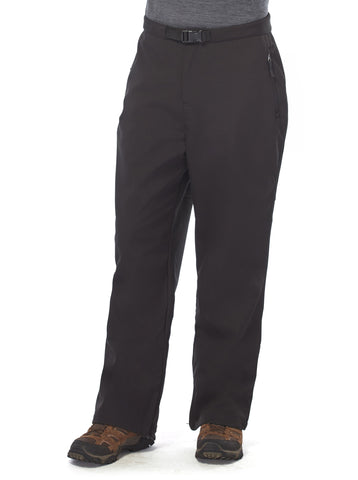 Free Country Men's Elevated Softshell Snow Pant - Black - S