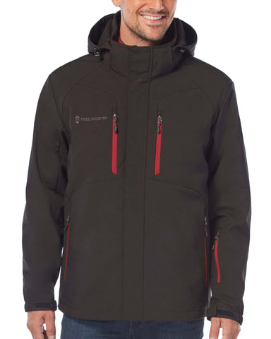 Free Country Men's Episcope II 3-in-1 Systems Jacket - Black - S