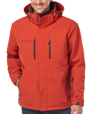 Free Country Men's Episcope 3-in-1 Systems Jacket - Fire Brick - S