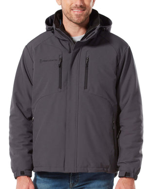 Free Country Men's Episcope II 3-in-1 Systems Jacket - Charcoal - S