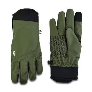 Free Country Men's Faille Softshell Glove - Wilderness Green - M/L
