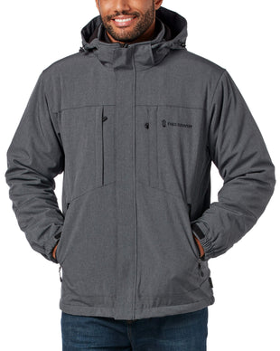 Free Country Men's Flex 3-in-1 Systems Jacket - Charcoal - S