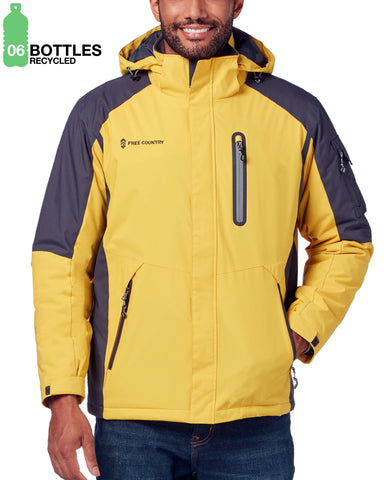 Free Country Men's FreeCycle™ Apex Jacket - Slicker Yellow - S