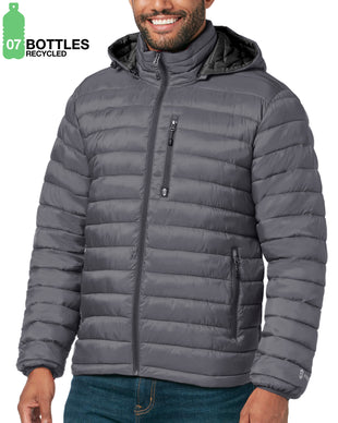 Free Country Men's FreeCycle™ Essential Puffer Jacket - Slate - S