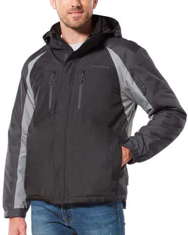 Free Country Men's Pinnacle Mid Weight Jacket - Black - S