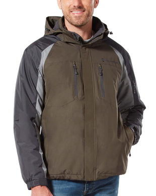 Free Country Men's Pinnacle Mid Weight Jacket - Olive - S