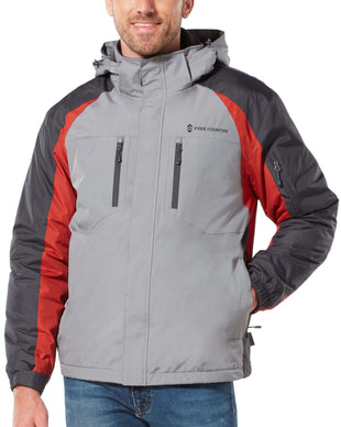 Free Country Men's Pinnacle Mid Weight Jacket - Stone - S