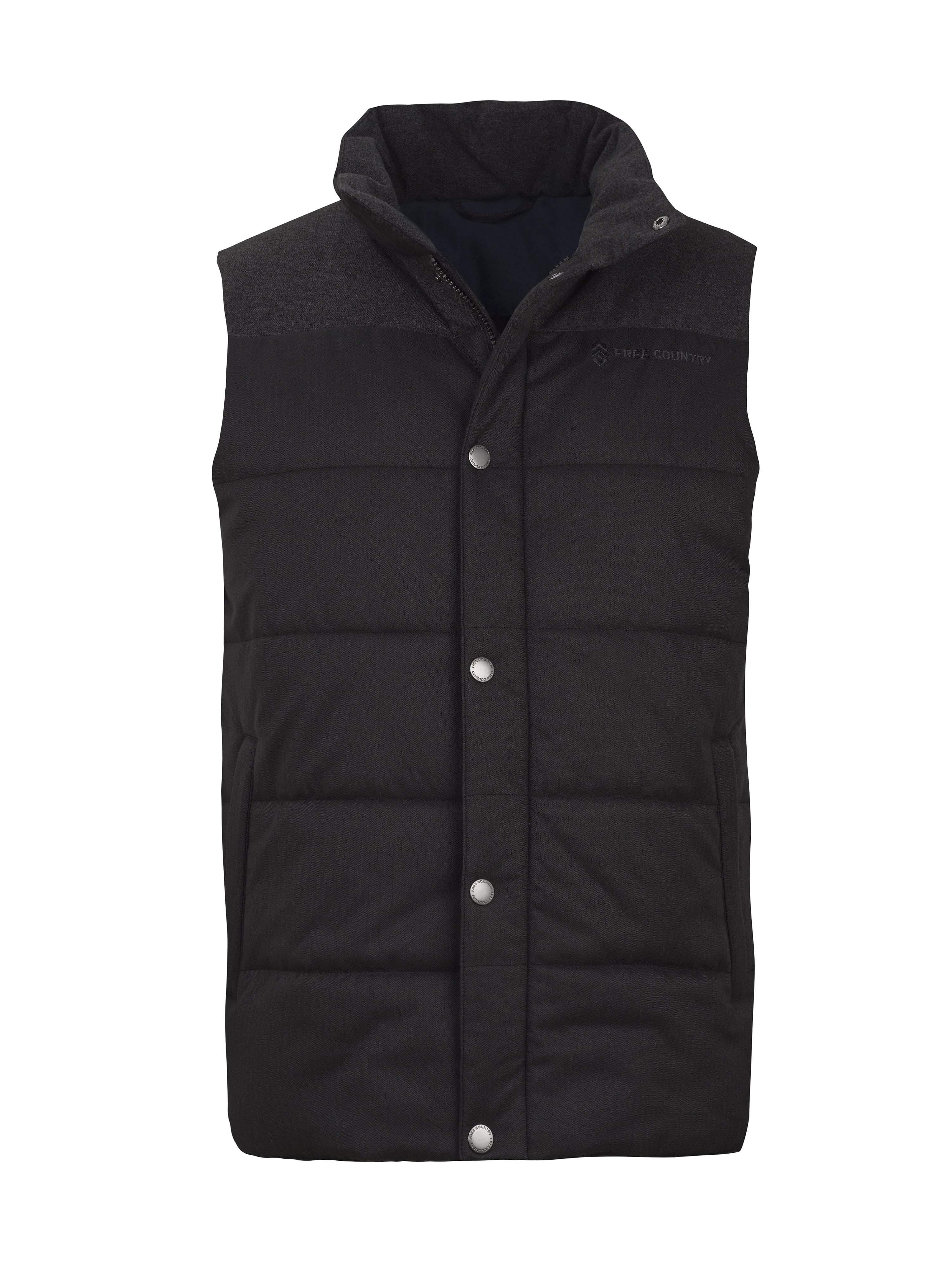 Free Country Men's Grizzly Quilted Vest