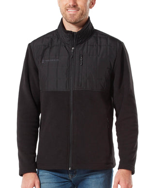 Free Country Men's Hiker Fleece Jacket - Black - S