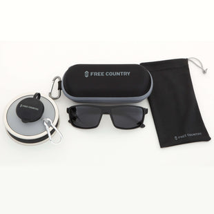 Free Country Men's Hiking Gift Set - Black - OS