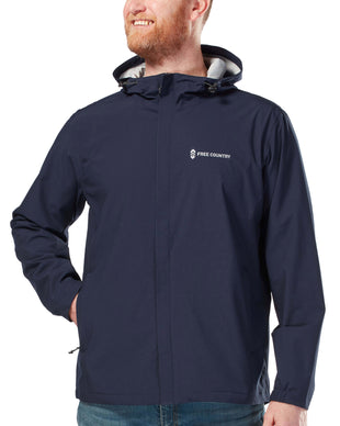 Free Country Men's Hydro Lite Spectator Waterproof Jacket - Navy - S