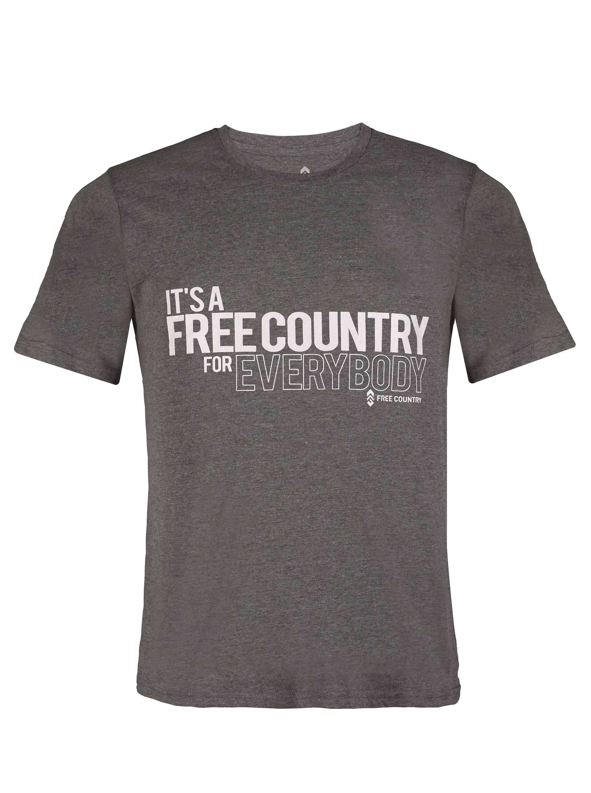 Free Country Men's It's A Free Country Tee 5190646792228