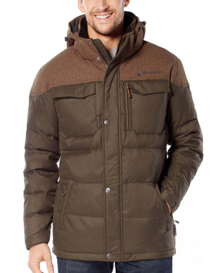 Free Country Men's Keystone Down Quilted Jacket - Canteen - S