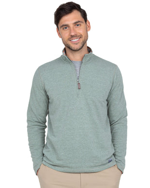 Free Country Men's Lightweight Sueded Long Sleeve Shirt - Sage - S