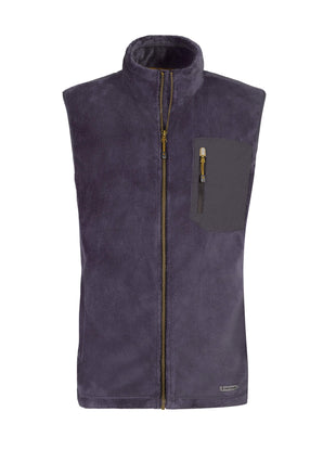 Free Country Men's Marshall Venture Pile Fleece Vest - Dark Navy - S