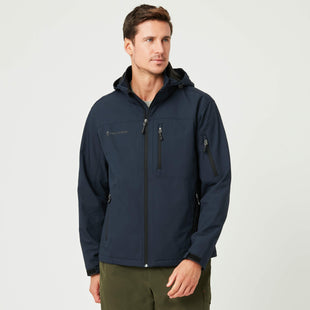 Free Country Men's Odyssey Super Softshell® Jacket - Navy - S