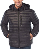 Free Country Men's Paragon Down Puffer Jacket - Black - S