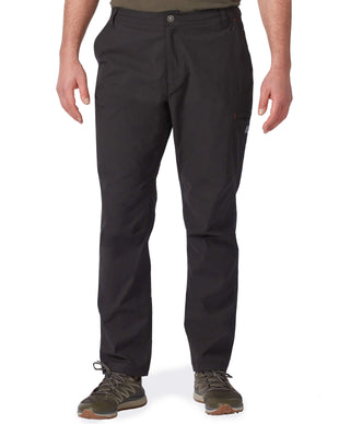 Free Country Men's Ridge Weave Trek Pant - Black - 32/32