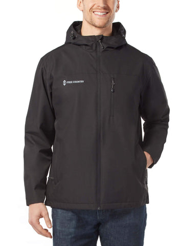 Free Country Men's Skyline Spectator Jacket - Black - S