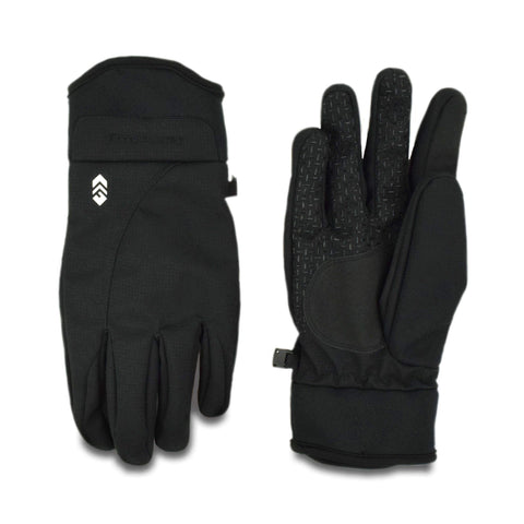 Free Country Men's Softshell Woven Glove - Black - M/L