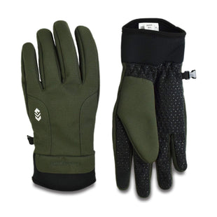 Free Country Men's Solid Softshell Glove - Olive - L/XL