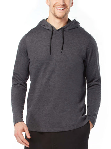 Free Country Men's Summer Weight Hoodie - Black - S