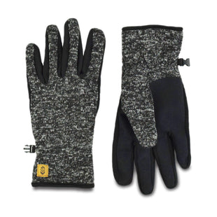 Free Country Men's Sweater Knit Glove - Charcoal - L/XL