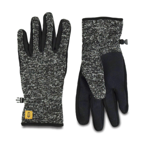 Free Country Men's Sweater Knit Glove - Charcoal