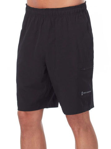 Free Country Men's Tech Stretch Short - Black - S